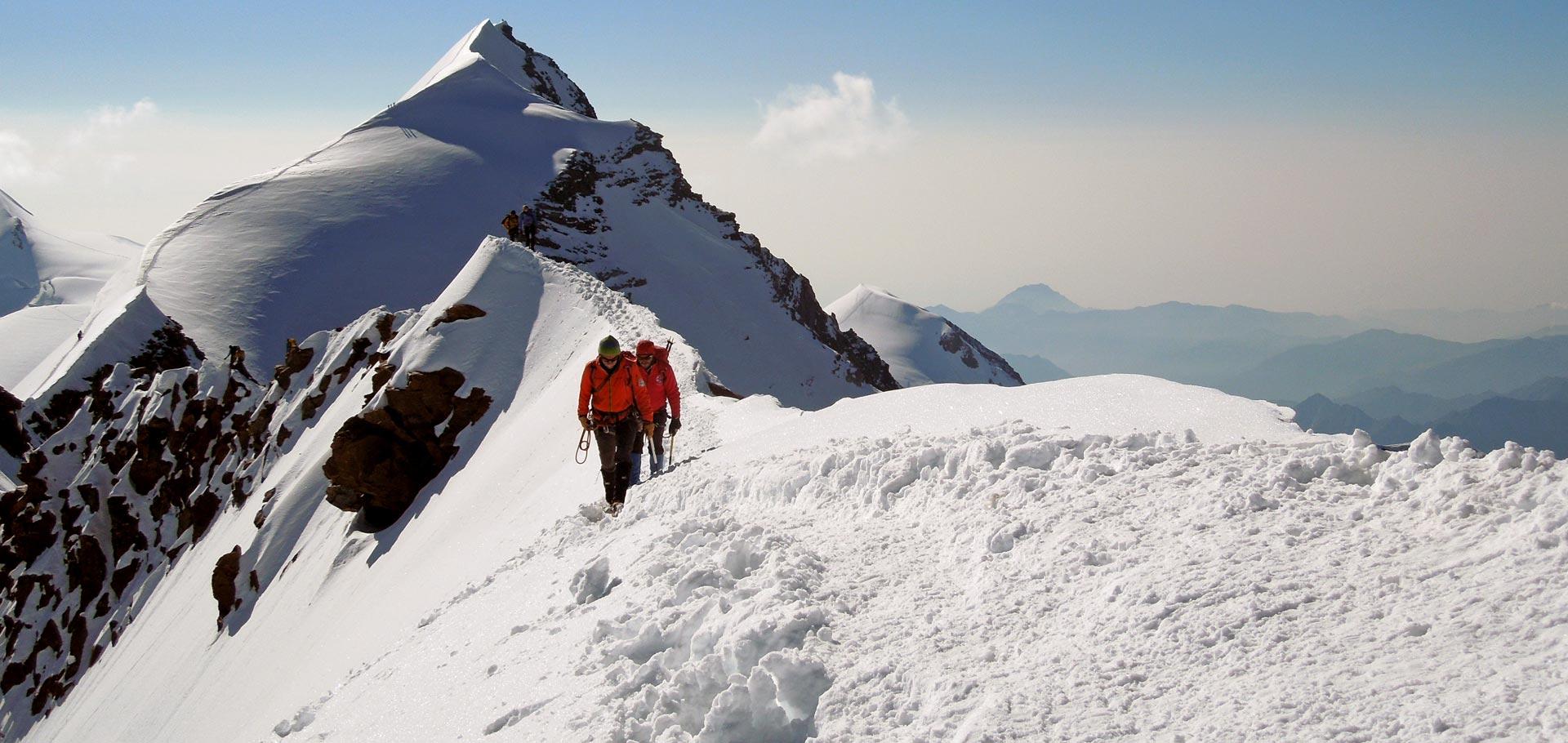 Alpinismo con Guida Alpina