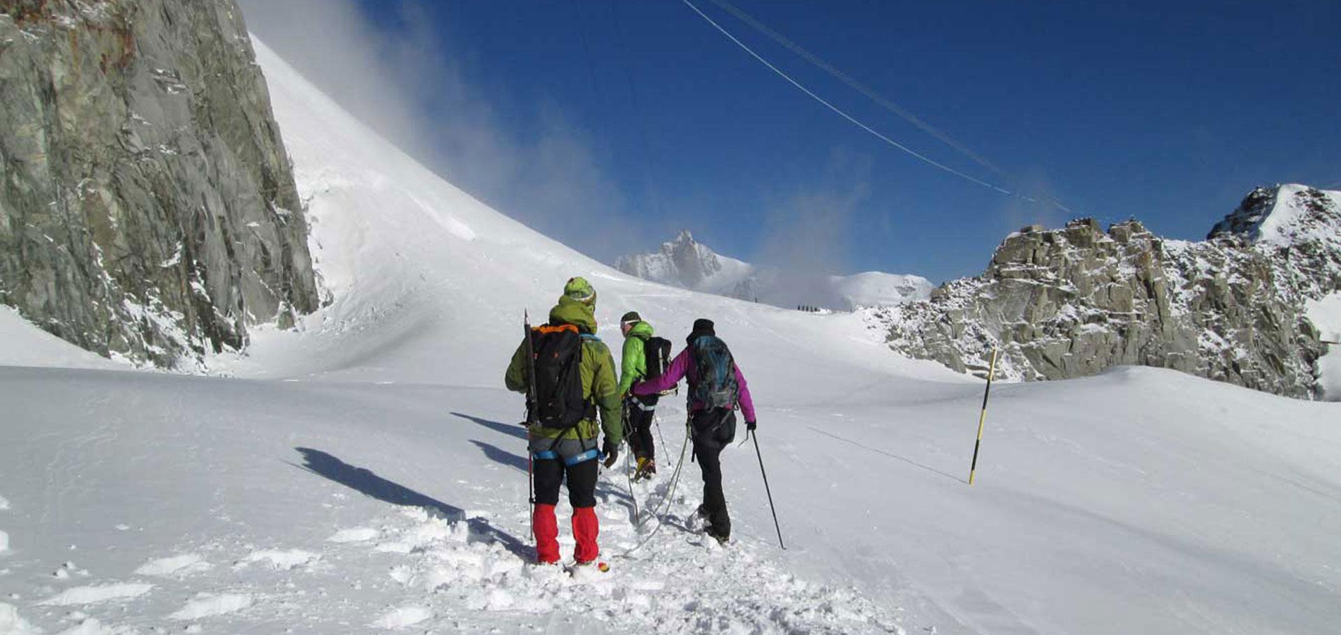 Corsi di Alpinismo Livello 1